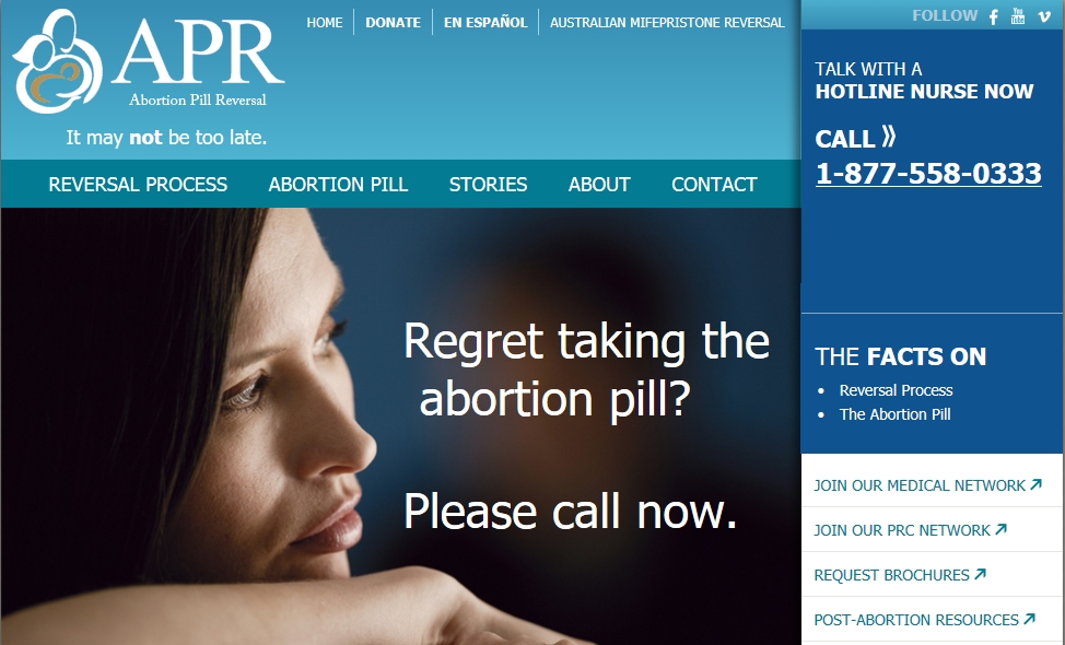 Abortion Pill Reversal Study Published in Peer-Review Journal